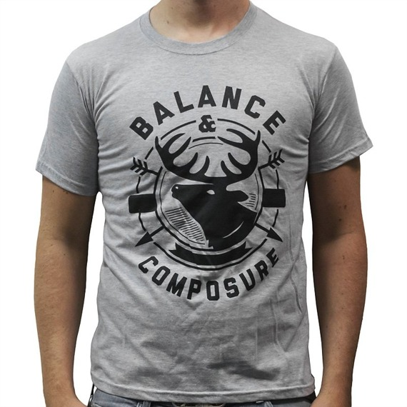 koszulka BALANCE AND COMPOSURE - DEER