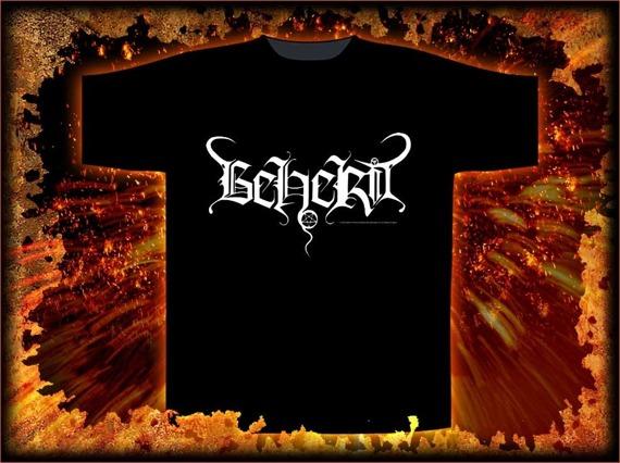 koszulka BEHERIT - LOGO