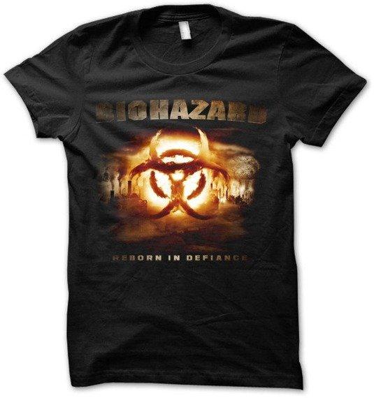 koszulka BIOHAZARD - REBORN IN DEFIANCE