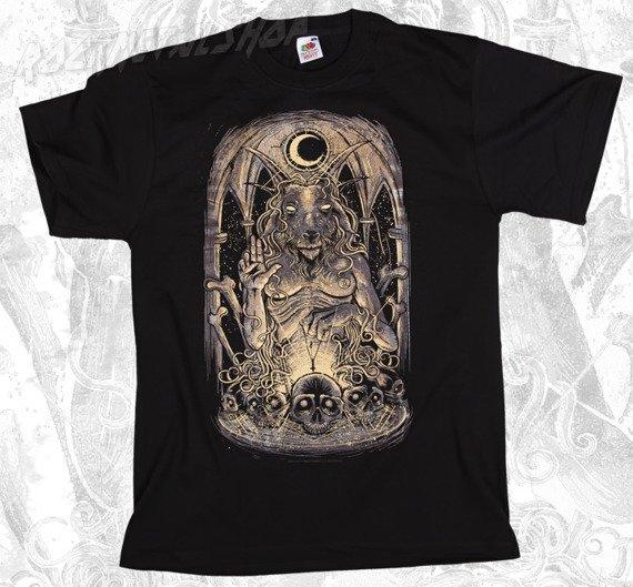 koszulka BLACK ICON - BAPHOMET (MICON004)