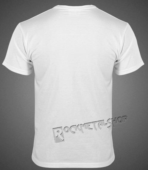koszulka BLACK ICON - SKATE SKULL (MICON035 WHITE)