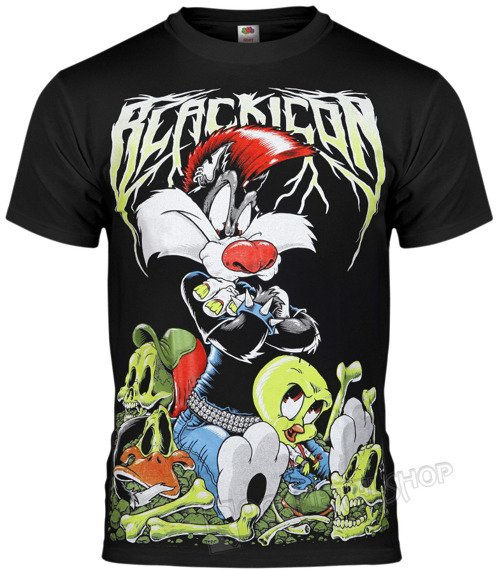 koszulka BLACK ICON - TWEETY (MICON124 BLACK)