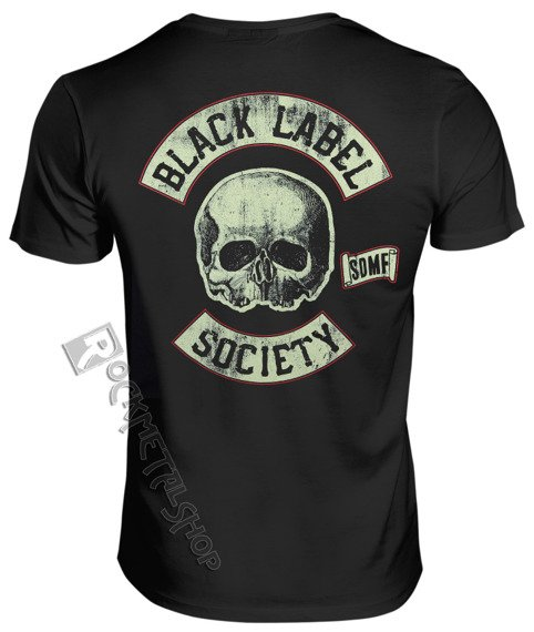 koszulka BLACK LABEL SOCIETY - HELL RIDING HOT ROD