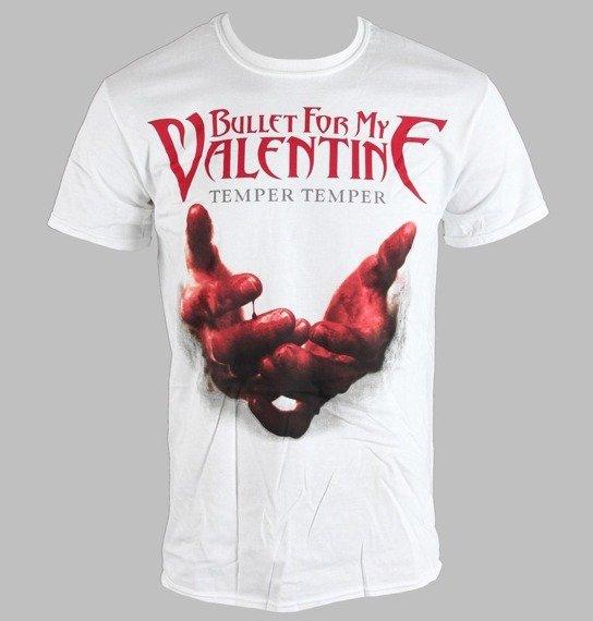 koszulka BULLET FOR MY VALENTINE - TEMPER BLOOD HANDS