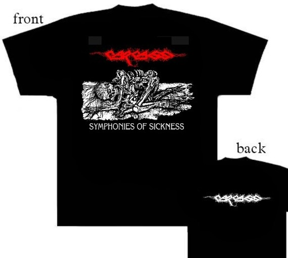 koszulka CARCASS - SYMPHONIE OF SICKNESS