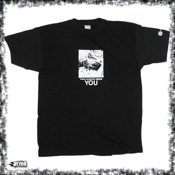 koszulka CRASS - YOUR COUNTRY NEEDS YOU