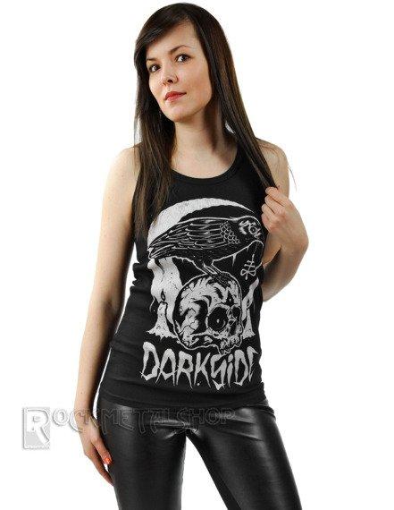 koszulka DARKSIDE - SKULL CROW BEATER, na ramiączkach