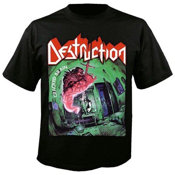 koszulka DESTRUCTION - CRACKED BRAIN