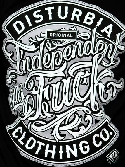 koszulka DISTURBIA - INDEPENDENT