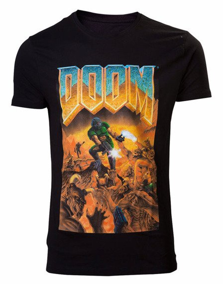 koszulka DOOM - CLASSIC BOX ART