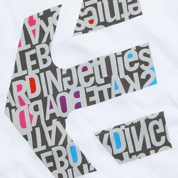 koszulka ETNIES -Icon Fill 2 (white) 09'