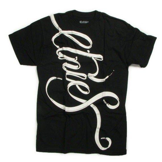 koszulka ETNIES - TIED (BLACK) 09'