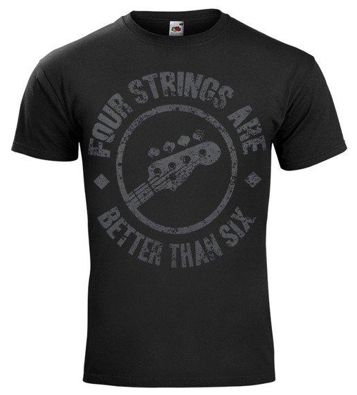 koszulka FOUR STRINGS ARE BETTER THAN SIX