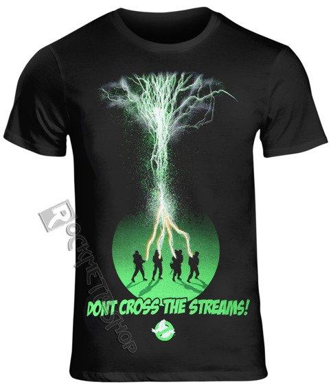 koszulka GHOSTBUSTERS - DON'T CROSS THE STREAMS