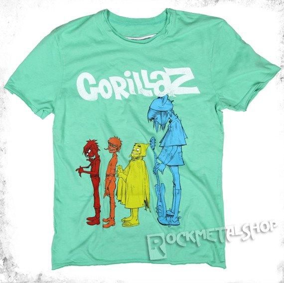 koszulka GORILLAZ - DARE zielona