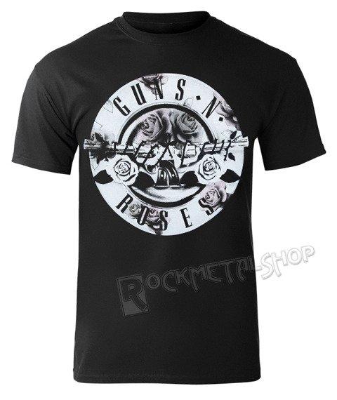 koszulka GUNS N' ROSES  - FLORAL FILL BULLET