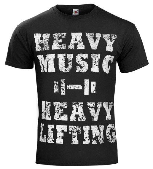 koszulka HEAVY MUSIC HEAVY LIFTING