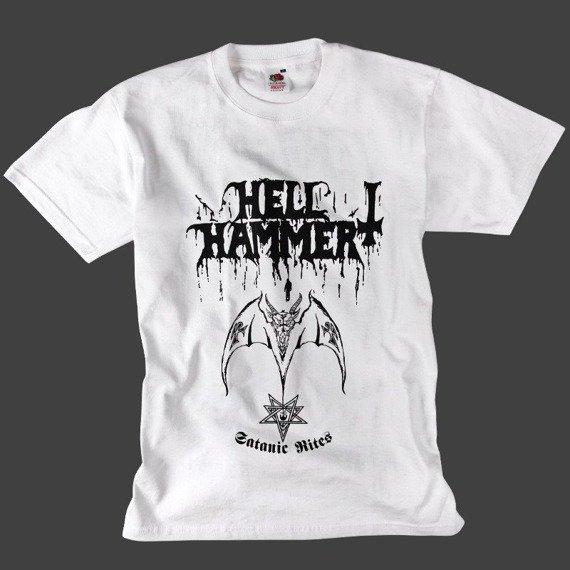 koszulka HELLHAMMER - SATANIC RITES