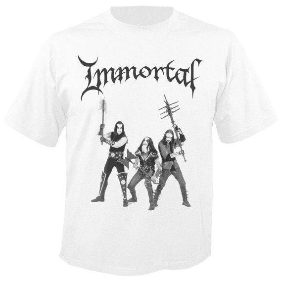 koszulka IMMORTAL - WEAPONS WHITE