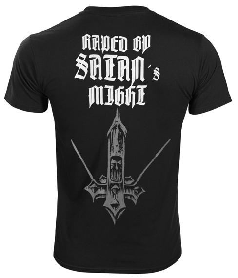 koszulka IMPALED NAZARENE - RAPED BY SATAN'S MIGHT