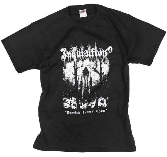 koszulka INQUISITION - DESOLATE FUNERAL CHANT