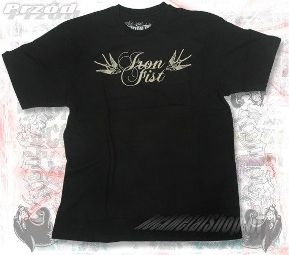 koszulka IRON FIST - BENS BIRDS (Black)