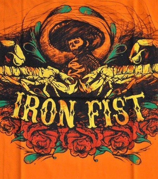 koszulka IRON FIST - LA PINATA (ORANGE)