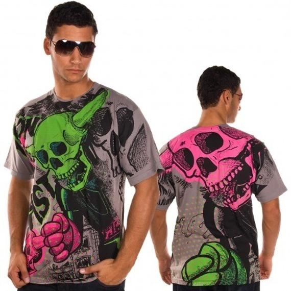 koszulka IRON FIST - SKULLBOT (CLOUDBURST  GREY)