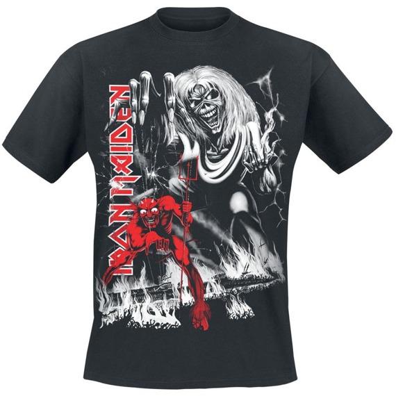 koszulka IRON MAIDEN - THE NUMBER OF THE BEAST