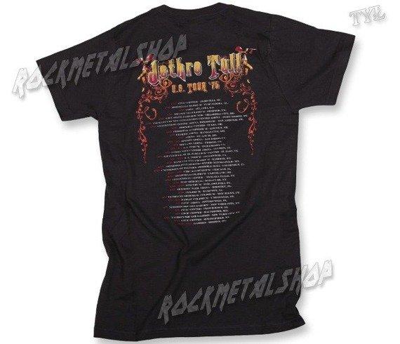 koszulka JETHRO TULL - TOUR 75 CHA