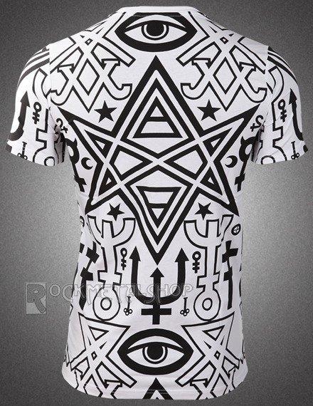 koszulka KILL STAR - THELEMA biała