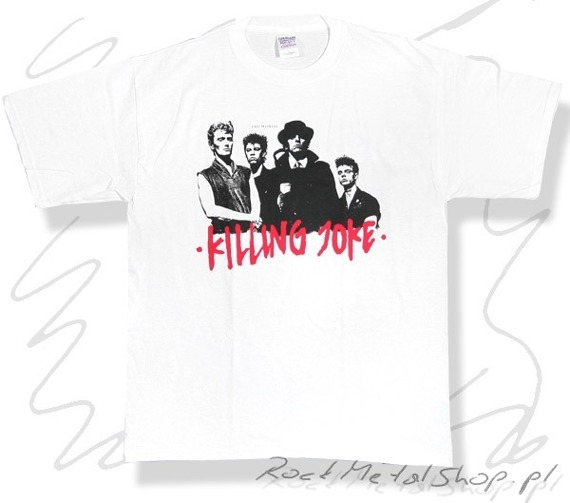 koszulka    KILLING JOKE -FIRE DANCES WHITE