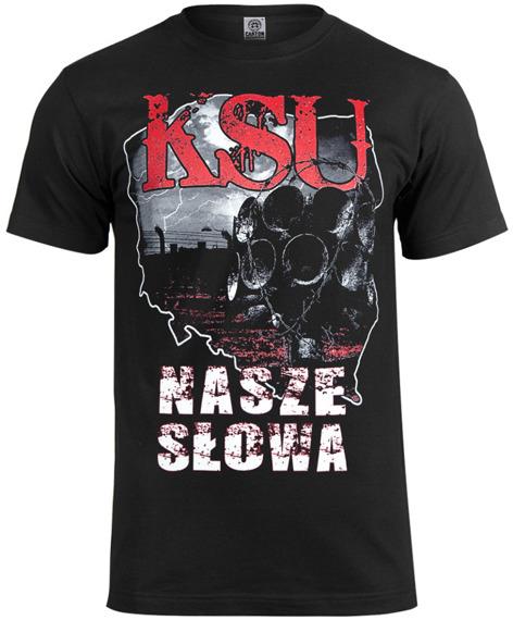 koszulka KSU - NASZE SŁOWA