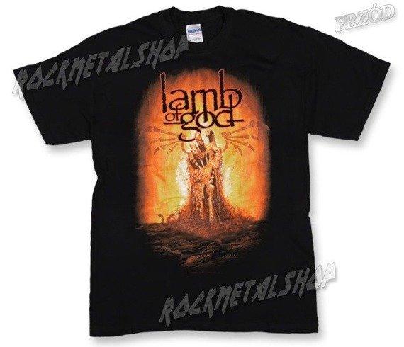 koszulka LAMB OF GOD - BURNING HAND