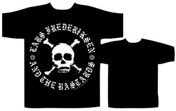 koszulka  LARS FREDERIKSEN AND THE BASTARDS - SKULL