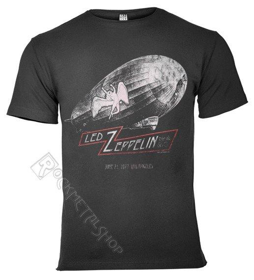 koszulka LED ZEPPELIN - DAZED AND CONFUSED ciemnoszara