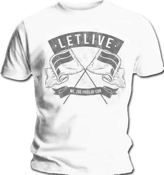koszulka LETLIVE - WE THE PROS OF CON