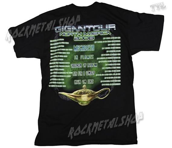 koszulka MEGADETH - GIGANTOUR