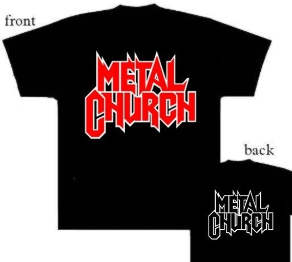 koszulka METAL CHURCH - LOGO