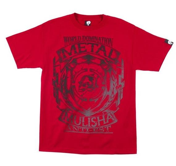 koszulka METAL MULISHA - ARMS czerwona