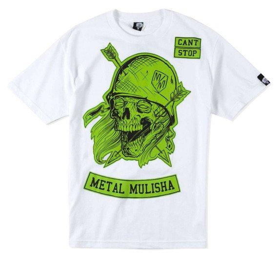 koszulka METAL MULISHA - ARROW HEAD biała