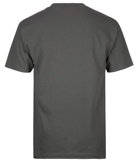 koszulka METAL MULISHA - CAPTION szara