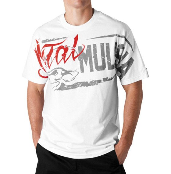 koszulka METAL MULISHA - CLINKER biała