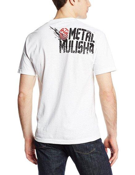 koszulka METAL MULISHA - DEAD ZONE biała