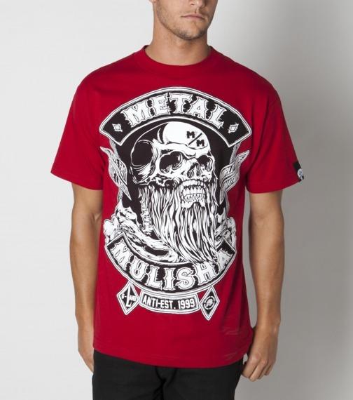 koszulka METAL MULISHA - G-LAND 2 czerwona