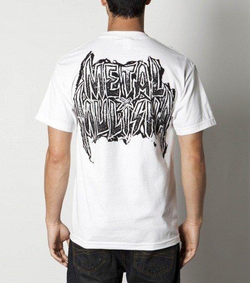 koszulka METAL MULISHA - GNARLY biała