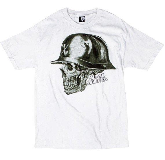 koszulka METAL MULISHA - PITTED biała