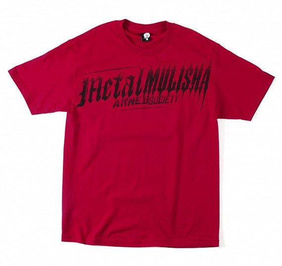 koszulka METAL MULISHA - RANKS czerwona