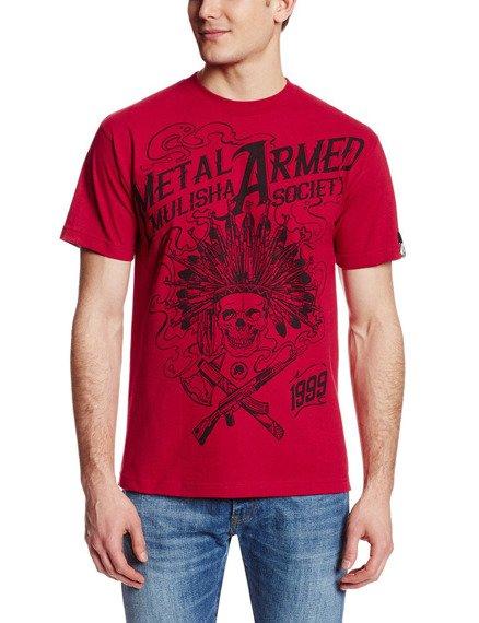 koszulka METAL MULISHA - SKULLIOSIS czerwone