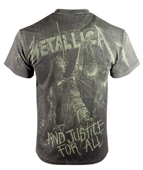 koszulka METALLICA - JUSTICE NEON